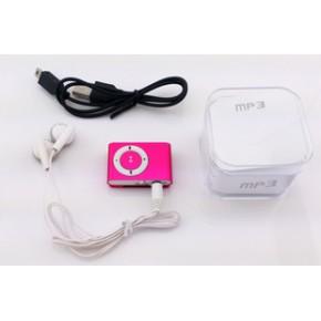 MP3 迷你mp3 金属夹子MP3 插卡mp3 定做LOGO礼品