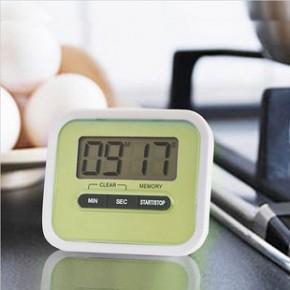 厨房定时器 懒人烹饪计时器  带支架磁铁 115倒计时器 正负计时