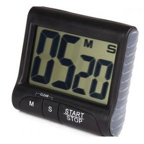 小批,厨房定时器,循环倒计时电子提醒器
