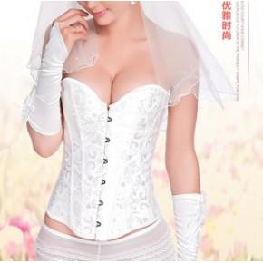 新娘美体衣收腹塑身衣束腰聚拢腰封宫廷马甲束身衣情趣服饰代发
