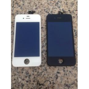 苹果液晶屏 iphone4 4S 液晶总成 压伤屏幕大