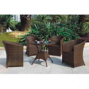 仿藤 户外家具休闲阳台组合 编藤桌椅子藤椅五件套 A837