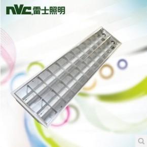 雷士照明格栅灯盘 商场办公室照明T8格栅灯盘 NDL412SI-2*36W