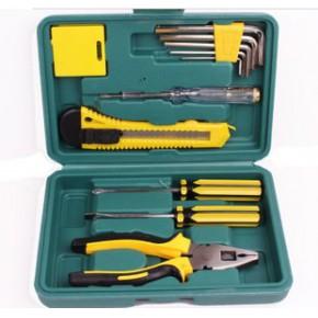 12件套组合工具箱 汽车礼品套装 家用礼品工具包 8件套应急工具箱
