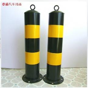 铁制警示柱 路桩 路障加厚钢管 地锁 道口标 交通防撞设施挡车器