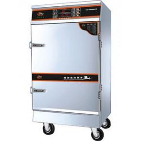 饭堂厨房工程用多美多DMD-PH-6盆数码定时电蒸饭柜