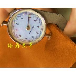 裕森皮革商行  1.8 - 2.0厚 纯色 多色牛反绒二层皮