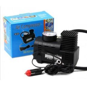 车载充气泵汽车打气泵塑料迷你小气泵车用充气泵车胎打气泵