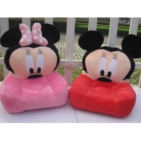 卡通米老鼠米奇米妮儿童沙发 懒人沙发摄影沙发 宝宝玩具一件代发