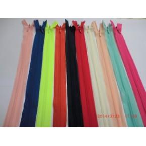 辅料3#缤纷彩色的隐形拉链