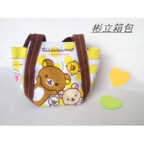 日韩原单  轻松熊系列  手提包/便当包