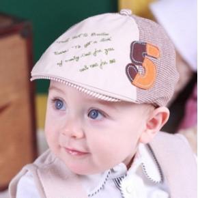 2014新款儿童帽子贝雷帽秋冬季鸭舌帽 韩版童帽可爱宝宝帽子