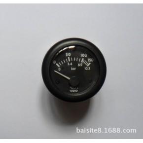 发电机配件VDO油压表 发电机油压表 发电机油箱仪表 12/24v