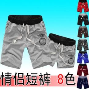 夏季裸婚印花短裤 男哈伦裤大码短裤男休闲运动8色短裤速卖通爆款