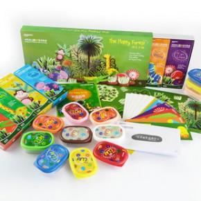 儿童益智玩具 创意手工玩具 3岁以上卡乐优艺术彩泥新品快乐丛林