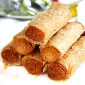 金广福食品 千层酥肉松卷饼皮薄馅多牛肉风味30g 零食