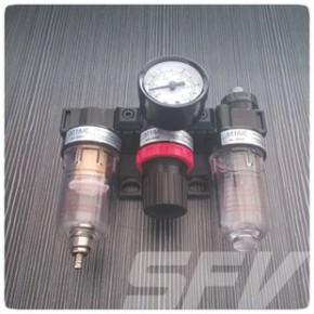 AC2000系列气源处理三联件 过滤器 减压阀 油雾器三组合式