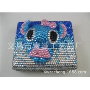 爆款立体史迪奇镶钻烟盒 水钻烟盒 定制烟盒 创意烟盒
