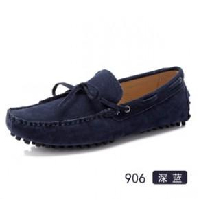 春季新品新款男士豆豆鞋防滑底平底单鞋休闲时尚低帮豆豆鞋906