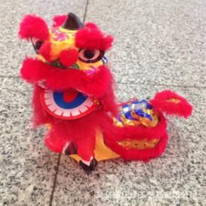 中国风工艺小狮头 一对动态座狮南舞狮 汽车家居创意摆件出国礼品
