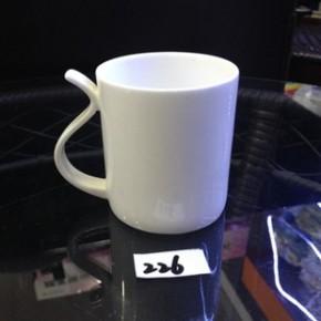 天天特价 陶瓷纯白咖啡杯 创意精品骨瓷环保水杯 酒店用品