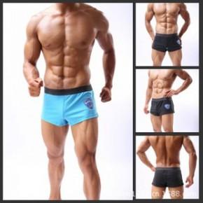男低腰性感家居运动短裤/田径跑步晨运散步内置囊袋MEN UNDERWEAR