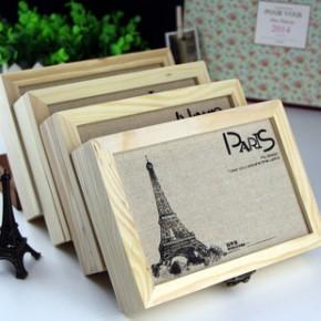 韩国文具 新款 巴黎风情同学录 木质木盒同学录 DIY 分页