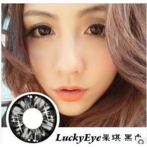 [批发15元/副]Kamany-eye卡曼依果琪(黑色)直径14 美瞳隐形眼镜