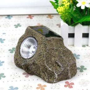 外贸原单 太阳能草坪灯 仿石头工艺品 LED太阳能户外灯特价清仓