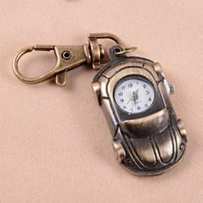 A2334 古铜挂表,锁匙扣表,口袋便装式复古,创意新奇特手表