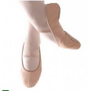 儿童/成人练功舞蹈鞋 软底 芭蕾练功 瑜伽肚皮舞鞋(无皮头)