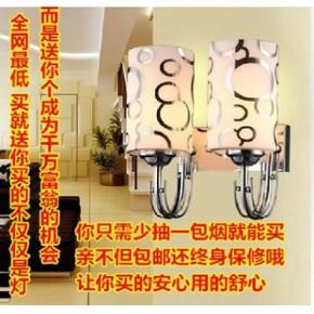 东鑫代简约玻璃单头床头过道灯工程壁灯灯具灯饰 酒店客房壁灯
