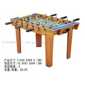 木制家庭休闲娱乐足球台玩具 亲子游戏 桌上足球TL062480