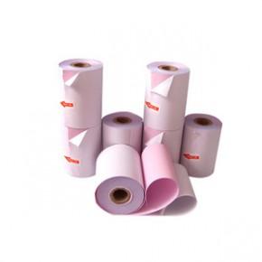 75*60两联(二层)无碳收银纸 复写小票纸 二联无碳纸 压感收银纸