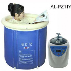 两用桑拿浴桶 泡澡桑拿熏蒸出汗 遥控款 家用桑拿泡浴桶