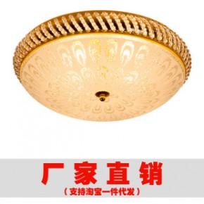 菠萝圈面包吸顶灯厂家欧式简约客厅灯书房灯卧室吸顶灯金色吸顶灯