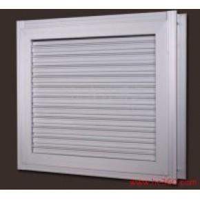 电动防雨百叶窗 整套窗 武汉良升