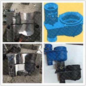 立式塑料水表壳模具 30