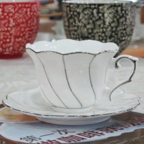 2014新款环保骨质瓷皇家咖啡杯 英式红茶杯  定制陶瓷咖啡杯