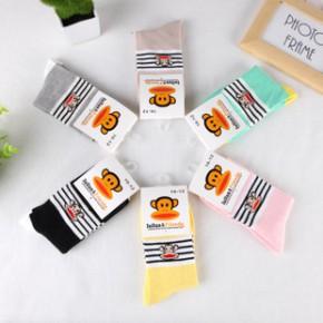 秋冬新品 儿童袜子 1-12岁宝宝袜卡通纯棉袜子保暖舒适