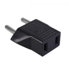 欧洲欧规转接头美规转澳规转两用插座转换插头欧标圆化扁电源插头
