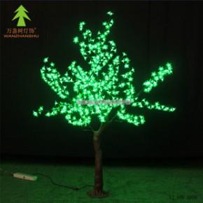 LED仿真桃花树 高1.8米 220V  绿色 质保2年