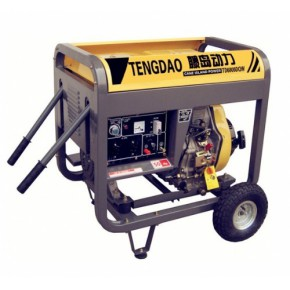 藤岛190A柴油发电焊机 5KW辅助电源