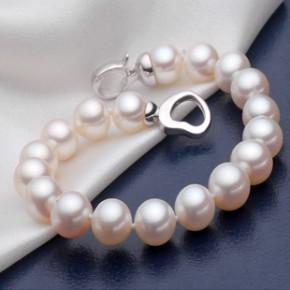 珍珠项链-圆形珍珠项链批发-淡水珍珠项链批发