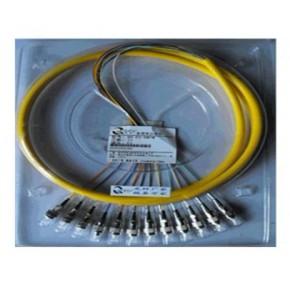 12芯FC单模尾纤,12芯SC单模尾纤