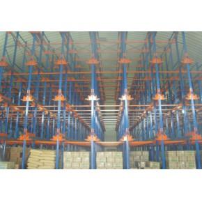新北京穿梭式货架厂  穿梭式货架厂应用