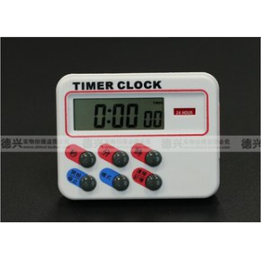 计时器TIMER电子倒计时器 24小时厨房定时器提醒器闹钟