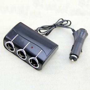冲腾 汽车多功能插座 车载USB一拖三点烟器带线款 4S店礼品