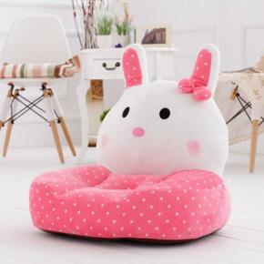 意屋语 卡通可爱卧室懒人沙发 萌兔时尚儿童沙发批发 地板椅