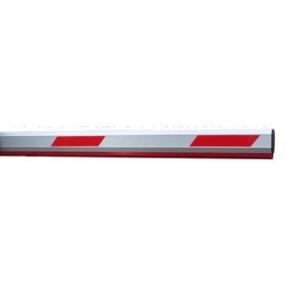 停车场挡车器 升降铝合金杆 6米红白/黄黑道闸杆